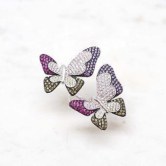 Bague Femme Niiki Paris - NJR052 -Butterflies