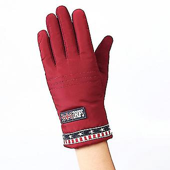 Childrenins Winter Thick Cashmere Warm Cycling Snow Sport Windproof Gloves