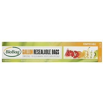 BioBag Bag Resealable Gallon, 12 x 15 pussin kotelo