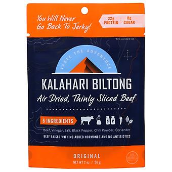 Kalahari Biltong Biltong Original, Boîtier de 8 X 2 Oz