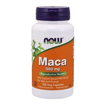 Now Foods Maca, 500 mg, 100 Caps