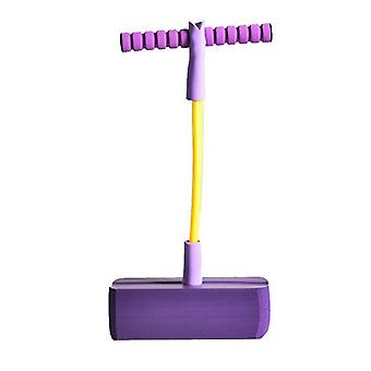 Toy Foam Pogo Pullover für Kinder, sicher und lustig Pogo Stick (lila)