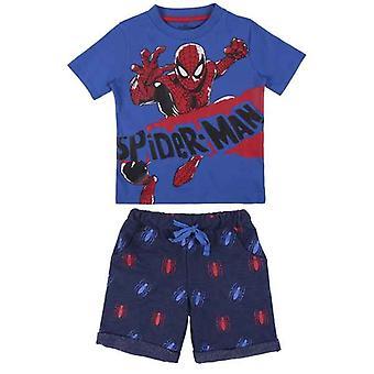 Set of clothes Spiderman Blue