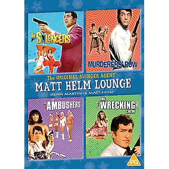 Matt Helm Lounge The SilencersMurdwbrerers RowThe Ambushers DVD (2021) Dean Region 2