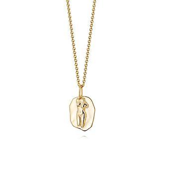 Daisy Aphrodite Gold Necklace AN01_GP
