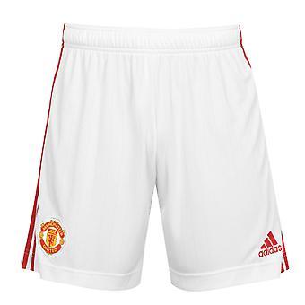 Manchester United Mens Shorts Home Kit 2021/22