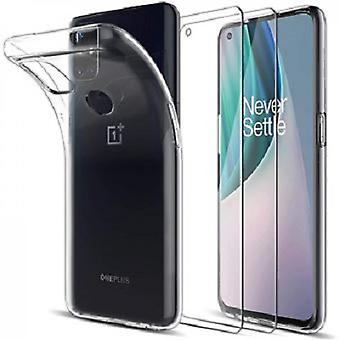 Case And Tempered Glass For Oneplus Nord N10 5g