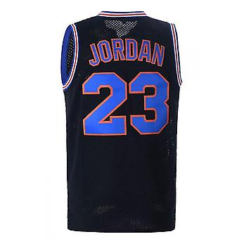 Mens Basketball Jersey 23# Space Movie Jersey S-2xl 90s Hip Hop Clothing For Party Sports Shirt