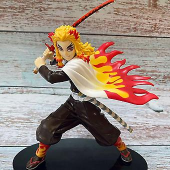 Koolyou Demon Slayer Cartoon Pvc Doll Action Model Toy Gift-breath Of Fire-a