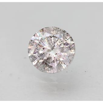 Certificado 0,50 Quilate i SI3 Rodada Brilhante Brilhante Diamante Solto Natural Solto 4.93mm