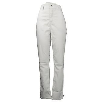 Vrouwen met Control Dames Jeans Denim Wit Vlekbestendig A376968