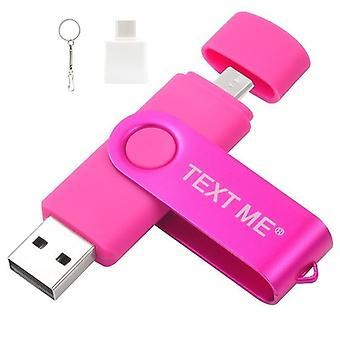 3 em 1 unidade usb flash pen drive para computador e telefone