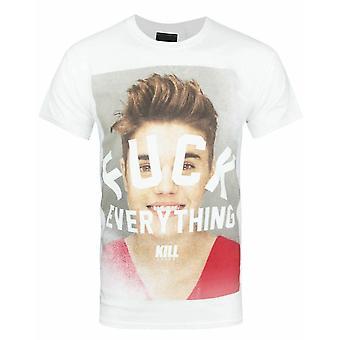 Kill Brand Mens Fck Everything T-Shirt