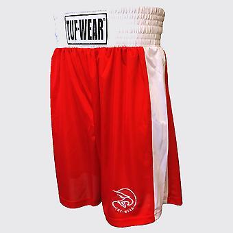 Pantaloncini da boxe Tuf Wear Club Rosso
