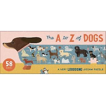 The A to Z of Dogs  A Very Looooong Jigsaw Puzzle by Laurence King Publishing