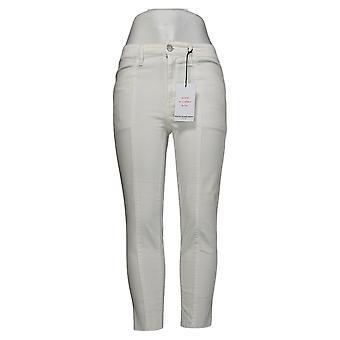 Skinnygirl Women's Jeans Reagan High-Rise Skinny Ankle White 744175