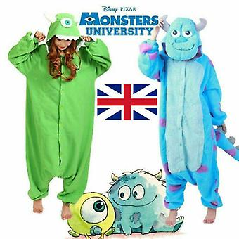 Fancy Adult Cos Outfit Cute Mike Sully Pajamas Monsters Pajamas Cosplay