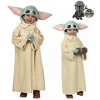 Yesfit Baby Yoda Mandalorian Kostüm Kinder Unisex