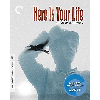 Her er din livet [BLU-RAY] USA importere