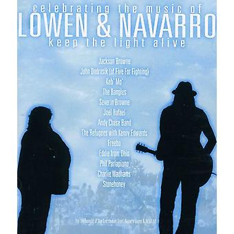 Browne/John Ondrasik (de Five for Fighting) / Keb' M - Mantenha o luz vivo [CD] EUA importar