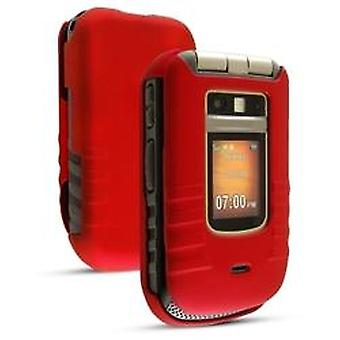 Sprint pehmeä snap tapauksessa Motorola i686 - punainen
