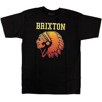 Brixton Anthem T-Shirt Black Gradient