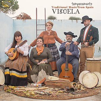 Viguela - Temperamento: Traditional Music From Spain [CD] USA import