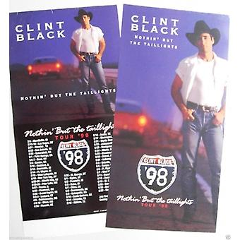 Clint Black Nothin but the Taillights Poster