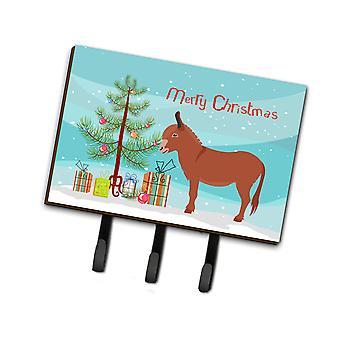 Carolines Treasures  BB9215TH68 Irish Donkey Christmas Leash or Key Holder