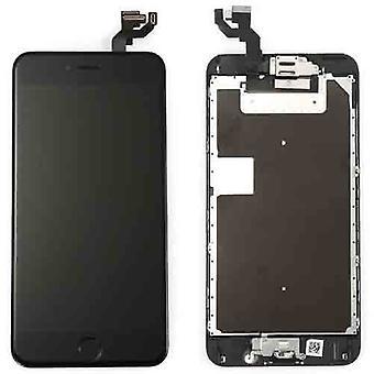 Formonterede Iphone 6S PLUS LCD-skærm-A +-sort & værktøjer