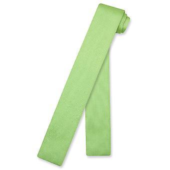 Biagio tricoté cravate tricot col cravate solides hommes