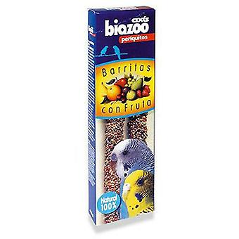 Axis-Biozoo Budgie Fruit Sticks (Birds , Bird Treats)