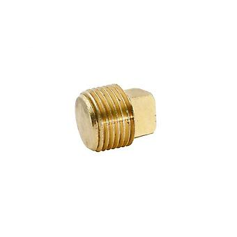 "BrassFittings 1016 0.37"" Pipe Plug Square Head 109E"