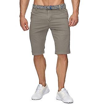 Men short trousers Chino Shorts Belts Bermudas Pattern Elegant Marine corps new