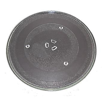 Microwave Turntable Glass 345mm Fits Morphy Richards and Panasonic Universal