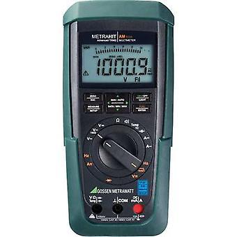 Gossen Metrawatt METRAHIT AM TECH Handheld multimeter Calibrated to (DAkkS standards) Digital CAT III 1000 V, CAT IV 600 V Display (counts): 12000