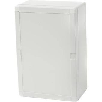 Gabinete fibox PCQ3 162409 Gabinete de montagem de parede, suporte de montagem 244 x 164 x 90 Policarbonato (PC) Cinza-branco (RAL 7035) 1 pc(s)