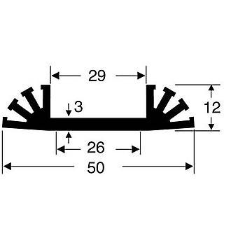 Fischer elektronik SK 31 37, 5 SA kylfläns 8 K/W (L x b x H) 37,5 x 50 x 12 mm
