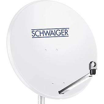 Schwaiger SPI996.0 SAT antenna 80 cm Reflective material: Steel Light grey