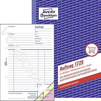 Avery-Zweckform Order form 1725 A5 portrait No. of sheets: 80
