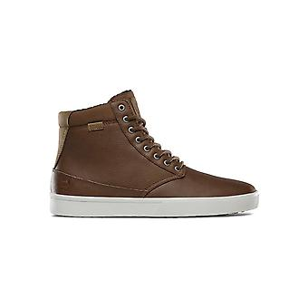 Etnies Jameson HTW Trainers in Brown/Tan/White