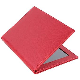 Byron and Brown Florence 2 Fold Leather Travel Frame 5x3.5 - Red