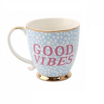 Tazza di ceramica dente dolce buone vibrazioni