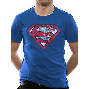 Superman - Logo très affligé T-Shirt (unisexe)