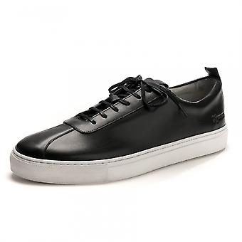 Grenson Grenson Sneaker 1 Black Calf Mens Sneaker