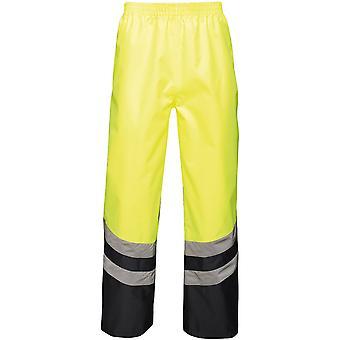 Regatta Mens Hi Vis Pro waterdichte werkkleding Over broeken