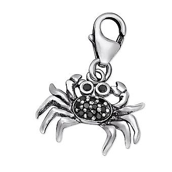 Crab - 925 Sterling Silver Charms with Lobster - W29506X