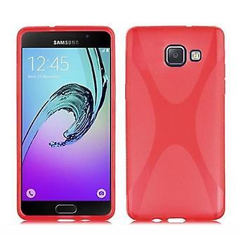 Cadorabo Hülle für Samsung Galaxy A5 2016 Case Cover - Handyhülle aus flexiblem TPU Silikon – Silikonhülle Schutzhülle Ultra Slim Soft Back Cover Case Bumper
