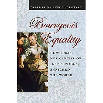 Bürgerliche Gleichstellung: Wie Ideen, nicht Kapital oder Institutionen, bereichert die Welt