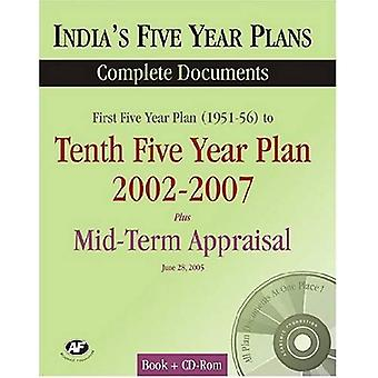 India's Five Years Plans 2002-2007: Complete Documents